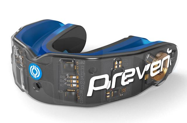A concussion-sensing mouthguard could help avoid head injuries