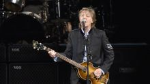 Paul McCartney plays concert at New York's Grand Central