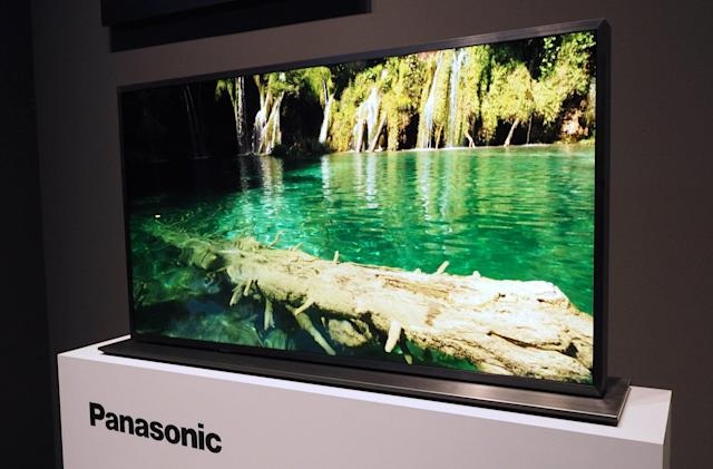 Panasonic's high-contrast dual LCD does a great impression of an OLED