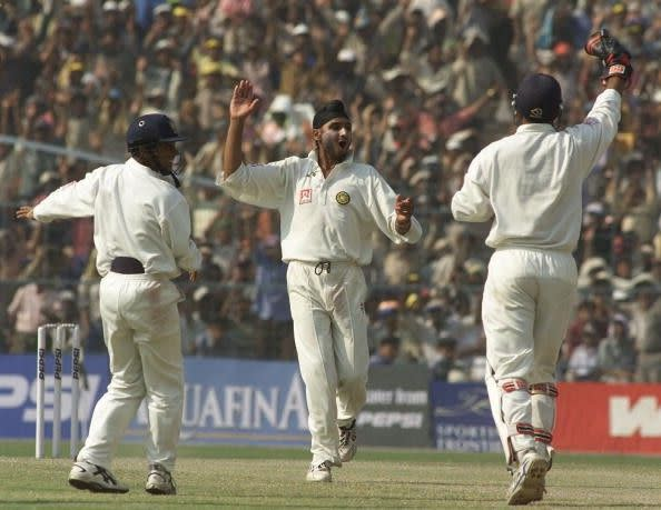 Bhajjo became the first Indian bowler to take a hat-trick in Test cricket