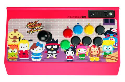 Street Fighter X Sanrio line from Mad Catz includes arcade stick, iPhone/iPad cases