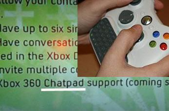 360 TID officially dubbed the Chatpad