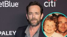 Luke Perry's Son Promises to Make Him Proud in Heartbreaking Post to Late '90210' Star