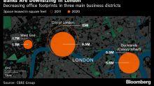 Banken geben Büros in London auf - nicht nur wegen Covid-19