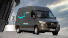 Amazon faz a maior compra de vans elétricas da história da Mercedes