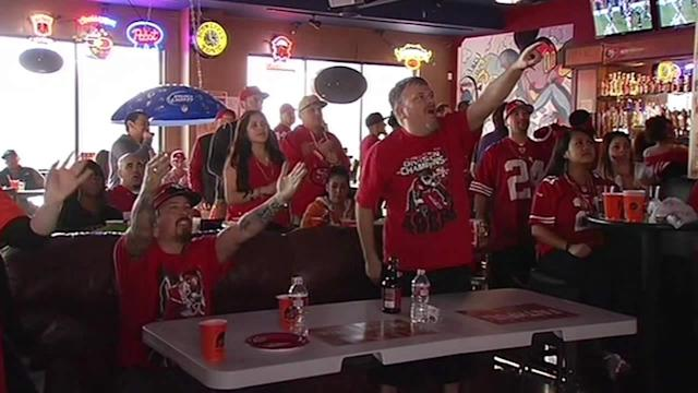 SF 49ers fans pumped up for NFC title game