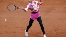 Roland-Garros (F) - Roland-Garros : Victoria Azarenka passe en râlant