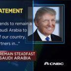 Trump: US will remain steadfast partner of Saudi Arabia