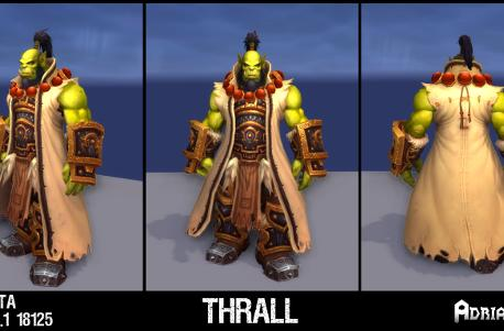 Warlords of Draenor: New mount and NPC models discovered