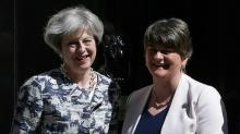 PM Theresa May pays out for N. Ireland deal to govern Britain