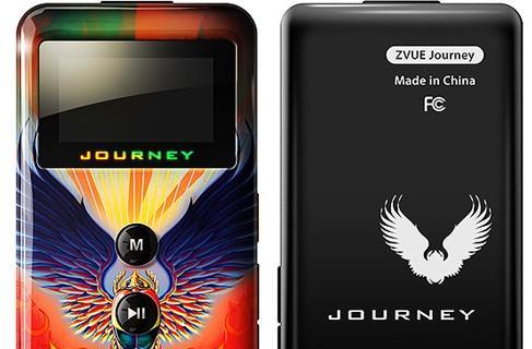 ZVUE's 1GB Journey DAP comes with 22 tracks you'll never delete