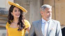 Amal + George Clooney kamen zur Hochzeit, aber ...: Die Clooneys kannten Harry und Meghan angeblich nicht