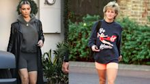 Princess Diana Is Your OG Chic Bike Shorts Inspo