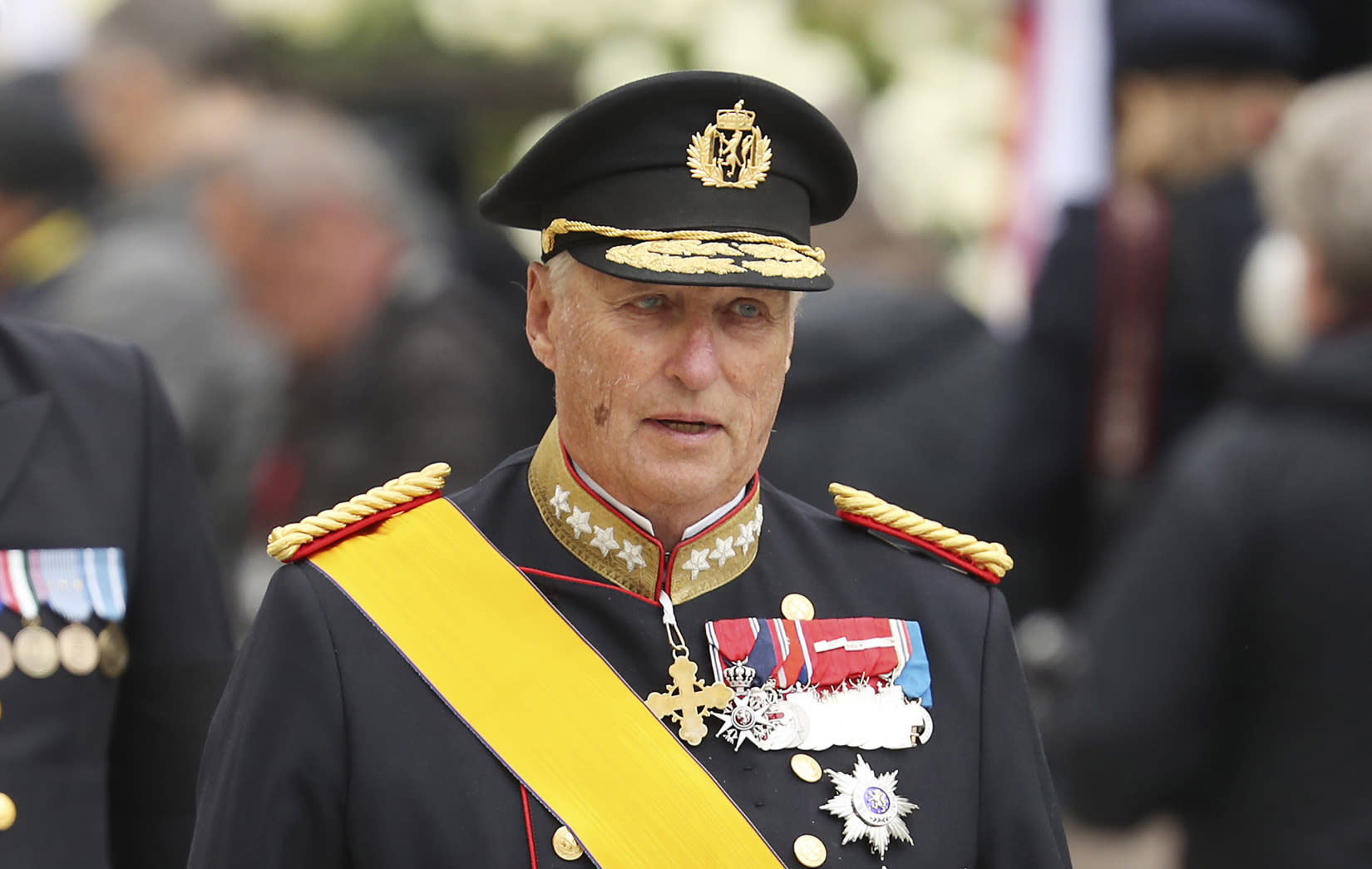 Norway's aging king discharged after heart surgery