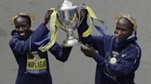 Kenyans Edna Kiplagat, Geoffrey Kirui win Boston Marathon, but Americans fare well