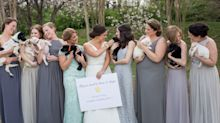This Bride Had Her Bridesmaids Hold Rescue Puppies Instead of Bouquets