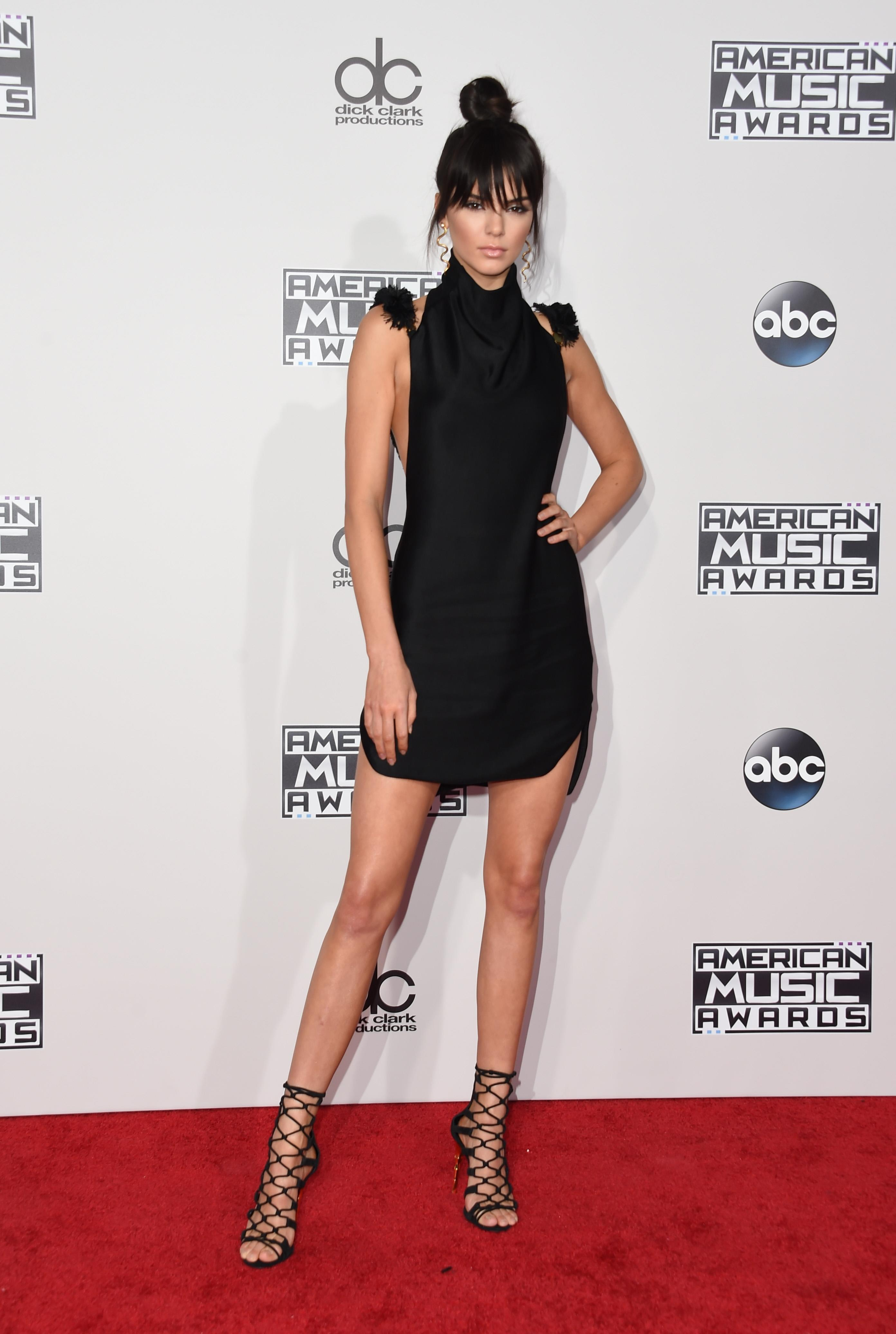 Kendall Jenner was a leading top model in 2015.
