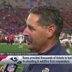 Ventura County Fire Department Captain Stan Ziegler talks wildfire relief, Kansas City Chiefs vs. Los Angeles Rams