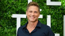 Rob Lowe explains why he wore NFL logo hat that inspired a meme to Packers-49ers game