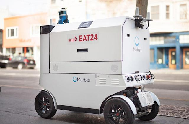 A Yelp bot will deliver your sushi in San Francisco