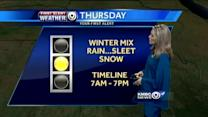 Spring arrives, winter returns Thursday