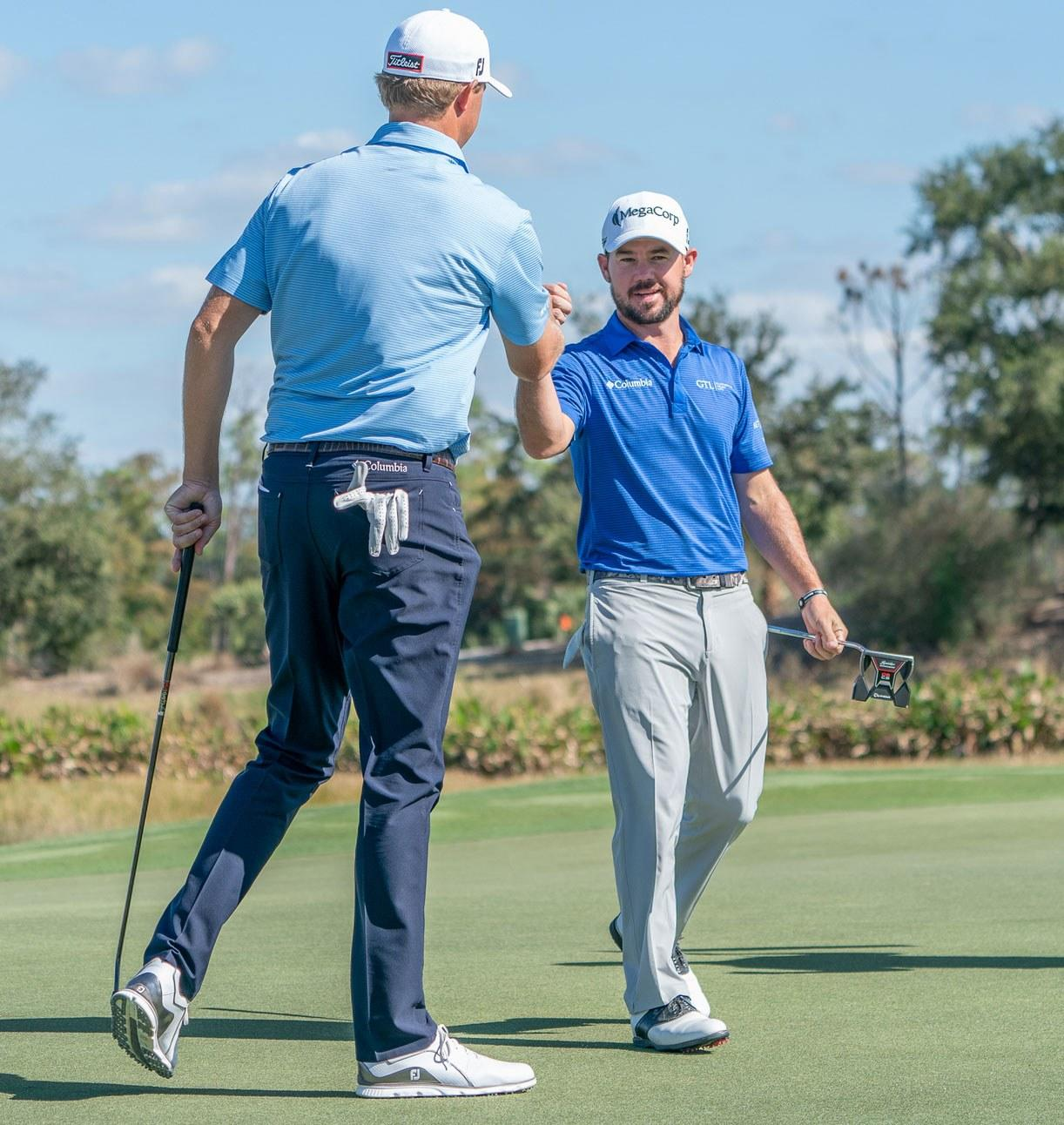 How much prize money each golfer earned at the 2018 QBE Shootout
