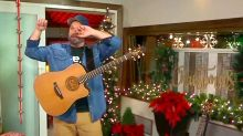 Garth Brooks chokes up and has to restart performance during live holiday special