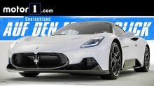 Maserati MC20: Neuer Supersportler mit 630 PS starkem Twinturbo-V6