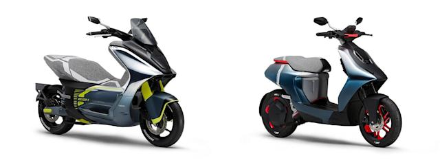 Yamaha's latest EV concepts include two city scooters
