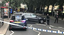 London crash being treated as 'terrorist incident': police