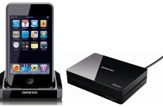 Onkyo debuts Universal Port-loving iPod dock, HD radio tuner