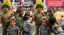 Titi, Bless, Roque e Brás se divertem em olimpíada escolar