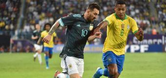 El mal gesto de Messi al seleccionador de Brasil