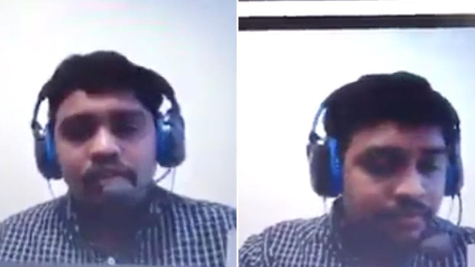 Awkward moment man caught out in disastrous job interview fail