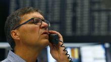 European shares bounce but trade jitters linger on