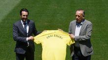 Técnico Unai Emery se apresenta e diz que sonha em conquistar título com o Villarreal