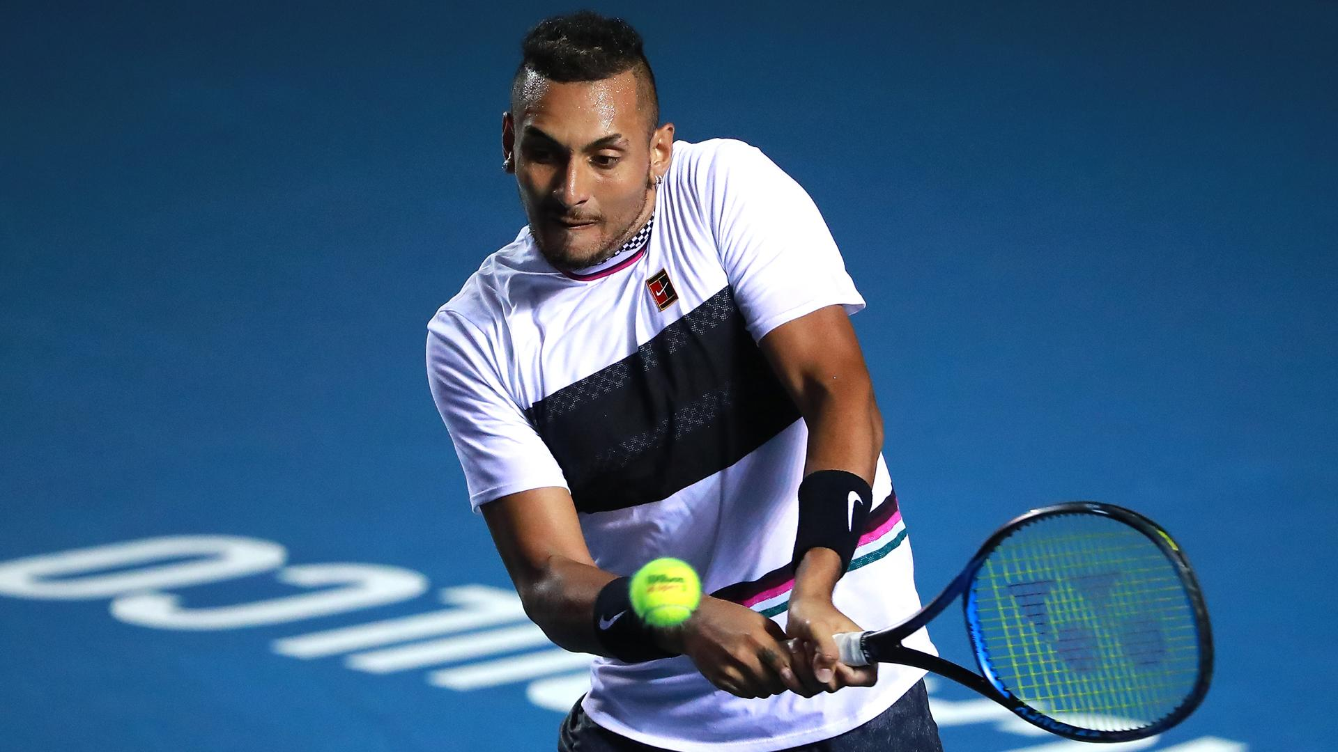 Kyrgios Saves Three Match Points To Stun Nadal In Acapulco Thriller