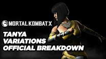 Tanya Variations Official Breakdown - Mortal Kombat X