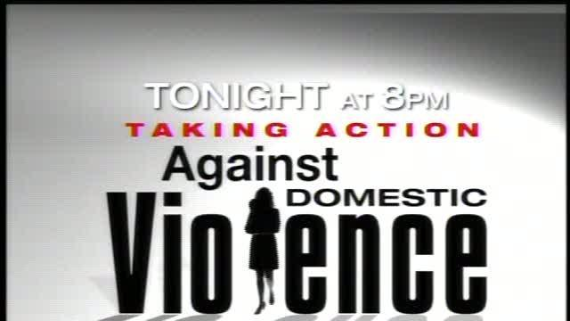 TONIGHT at 8pm: Taking Action Against Domestic Violence