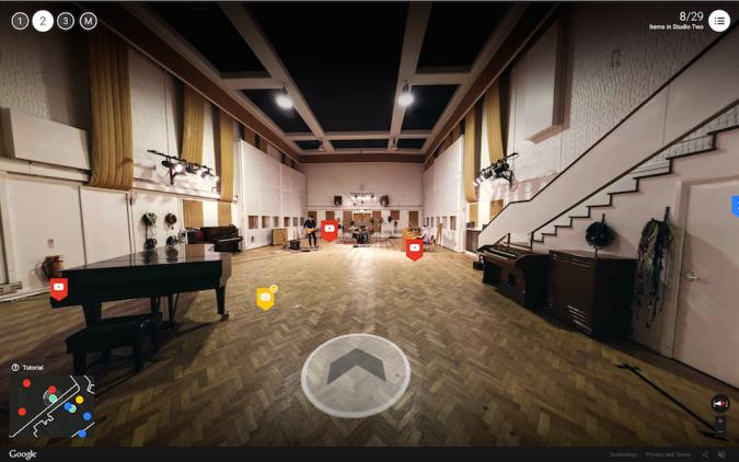 Google's interactive tour lets you go 'Inside Abbey Road'