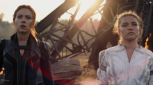 Black Widow rejoins her first family in new Super Bowl trailer