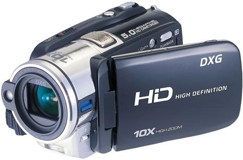 DXG-595V HD camcorder does 1080p for 200 bones