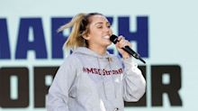 Kim Kardashian, Miley Cyrus, Natalie Portman & More Show Up To Support March For Our Lives
