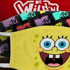 ViacomCBS Unveils Face Masks From 'SpongeBob', 'Star Trek', MTV & More