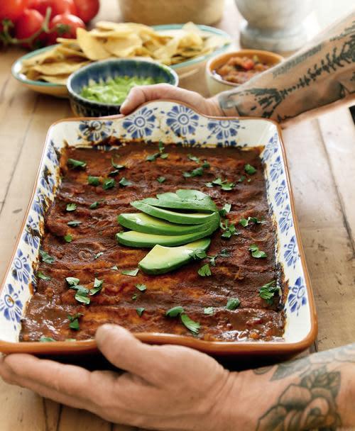 Sweet Potato Black Bean Enchiladas Thug Kitchen