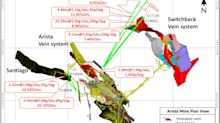 Gold Resource Corporation Expands Arista Mine With Drill Intercepts Including 23.39 Meters of 2.00 g/t Gold, 200 g/t Silver and 2.08 Meters of 1.98 g/t Gold, 1,583 g/t Silver in New Vein Discovery