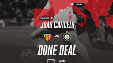Chelsea and Tottenham target Cancelo joins Inter on loan from Valencia