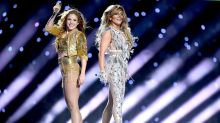 Shakira and Jennifer Lopez glitter in designer Super Bowl costumes
