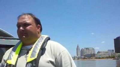 Raw Video: Boat Tour Of Miss. River With USGS