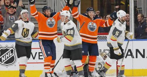 Hockey - NHL - NHL : Edmonton fait le spectacle contre Las Vegas